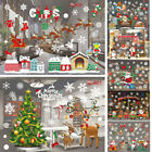 Merry Christmas Xmas Wall Window Stickers Decals Home Room Shop Decoration