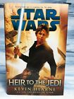 SATAR WARS: HEIR TO THE JEDI by Kevin Hearne **1st EDITION HARDCOVER**