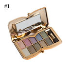 10 Colors Eyeshadow Palette Glitter Powder With Stick Eye Beauty Makeup Cosmetic