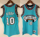 Mike Bibby Vancouver Grizzlies Mitchell  Ness Rookie 1998 1999 Authentic Jersey