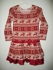 NWOT LIPSTIK GIRL Size 2T SUPER SOFT CHRISTMAS HOLIDAY RHINESTONE LS DRESS