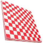 Внешний вид - Avant Grub Deli Paper 300 Sheets.Checkered Food Wrapping Papers Grease-Resistant