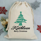 Personalised Christmas Santa Sack - Glitter Tree - Made to Order