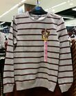 Primark Womens Harry Potter Gryffindor Striped Comfy Sweatshirt Jumper Ladies