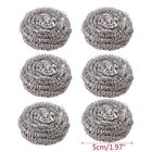 Stainless Steel Scourer Wire Pot Dish Scrubber Cleaning Ball Kitchen Pan Cleaner
