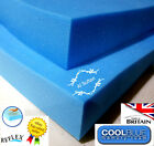CoolBlue Memory Foam Mattress Topper cool Blue Gel Memory  in all sizes