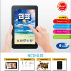 """🔥9"""" Tablet Pc Android Quad Core 8gb Hd Dual Camera Wifi Bundle With Keyboard Us"""