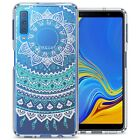 For Samsung Galaxy A7 (2018) Case TPU Bumper Hybrid Shockproof Slim Phone Cover