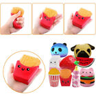 Slow Rising Jumbo Squishy Soft Squeeze Toy Dog Strawberry Reliever Stress Gifts