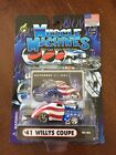 Funline Muscle Machines 41 Willys Coupe Sept 11,2001 Trib 1:64,DieCast,MISP (B6)