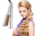 3 In 1 Hair 2-Way Rotating Curling Iron 360 Degree Hairdressing Electric Comb