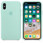 For Apple iPhone XS Max X XR Genuine Silicone Case Original Shockproof Slim Case