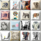 18'' Vintage Indian Elephant Throw Pillow Cover Cushion Case Home Decor Sightly