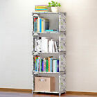 Внешний вид - Books Storage Rack Student Kids Cube Bookcase Home DIY Shelf Shoes Toys Wardrobe