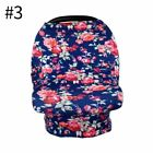 Baby Car Seat Cover Multi-Use Newborn Nursing Blanket Stretchy Sun Shade Canopy