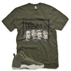 New Olive DEAD PRESIDENTS T Shirt for Jordan Class of 2003 CP3 Olive Green Army image