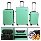 3 Piece Luggage Set Travel Bag Coded Lock ABS Trolley Spinner Carry Suitcase  #9