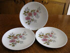 "WEDGWOOD BONE CHINA HARROW BY PATTERN 3 DINNER  PLATES 10 5/8"" -  ENGLAND"