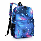 Galaxy For Boys Girls Canvas Laptop Bag Backpack Travel School Bags College Gift