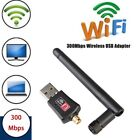 300Mbps Wifi Wireless USB Adapter 802.11b/n/g Lan Network Dongle With Aerial NM