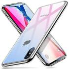 """Tempered Glass Case for iPhone Xs/ X (5.8""""-Skyfire Gem) 9H Glass Back Cover Mimi"""