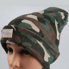 Fashion LED Flashlight Hands Free Knitted Beanie Cap Camping Sports Running Hat