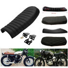 Motorcycle Cafe Racer Seat Vintage Saddle Cushion for Suzuki GS Yamaha XJ Honda $44.75 USD on eBay