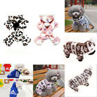 Pets Dog Jumpsuit Pajamas Hoodie Puppy Cat Jumper Warm Clothes Outfit Costume G