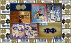 Lot of 5 Notre Dame Football Offical Programs Media Guide 1987 to 2000 Notre Dam