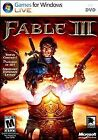 Fable Iii Video Game For Pc Computer  Used