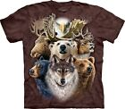 Northern Wildlife Collage T Shirt Adult Unisex The Mountain