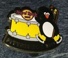 HARD ROCK CAFE HRC 2013 PITTSBURGH PENGUIN HOCKEY DRUMMER COLLECTIBLE PIN /LE