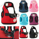 US Chihuahua Pet Small Dog Breathable Harness Nets Cotton Chest Strap Puppy Vest