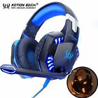Gaming Headphones Headset Deep Bass Stereo Wired Gamer Earphone