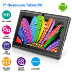 "9"" 7"" Tablet PC Android 8.1 Quad Core 8GB HD WIFI Dual Camera WiFi 1GB RAM"