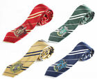 USA - NEW Harry Potter Gryffindor Slytherin Hufflepuff Ravenclaw Necktie Tie