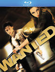 Wanted (Blu-ray Disc, 2008, 2-Disc Set) Plays in PlayStaion 3