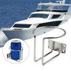 Pontoon+House+Boat+Marine+Yacht+RV+Silver+Stainless+Steel+Ring+Cup+Drink+Holder