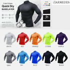 ARMEDES Mens Skin Tight Compression Baselayer Activewear Long Sleeve Shirt AR53
