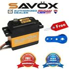 Savox SB-2274SG High Voltage Brushless Digital Servo + Free ALU servo horn Blue