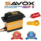 Savox SA-1231SG High Torque Steel-Gear digital servo + Free ALU servo horn Gold