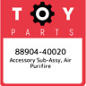 88904-40020 Toyota Accessory sub-assy, air purifire 8890440020, New Genuine OEM