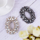 1PC rhinestone metal shoe clips women bridal shoes buckle decor accessories XS
