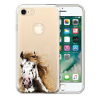 """For Apple iPhone 8 / iPhone 7 4.7"""" AT&T Animal Transparent Clear TPU Case Cover"""