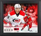 Sebastian Aho Hurricanes Framed 15x17 Rookie Collage w/Used PuckLE220 - Fanatics