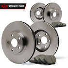 11 12 Fits Nissan Murano LE/S/SL/SV (OE Replacement) Rotors Ceramic Pads F+R