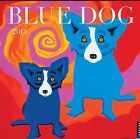 "2014 Blue Dog by George Rodrigue Wall Calendar 12"" X 12"" Art - BRAND NEW! Sealed"