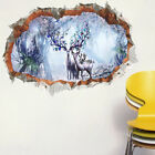 3D Removable Christmas Wall Sticker Adornment Wall Glass Window Decoration Hot
