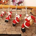 Hanging Rope Santa Christmas Tree Door Decor Baby Toy Gifts  Festival Ornament