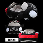 Pet Dog Car Bed Vehicle Style Red Black Puppy Warm Cushion Luxury Room